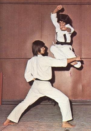 Maître Michel Morlon au dojo